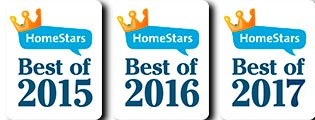 Harmcor Plumbing is a HomeStars Best Of Award Winner